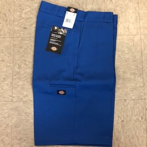 Dickies loose fit work shorts Royal blue